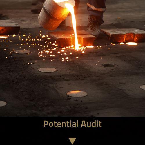 Potential Audit | Consulting für Gießereien